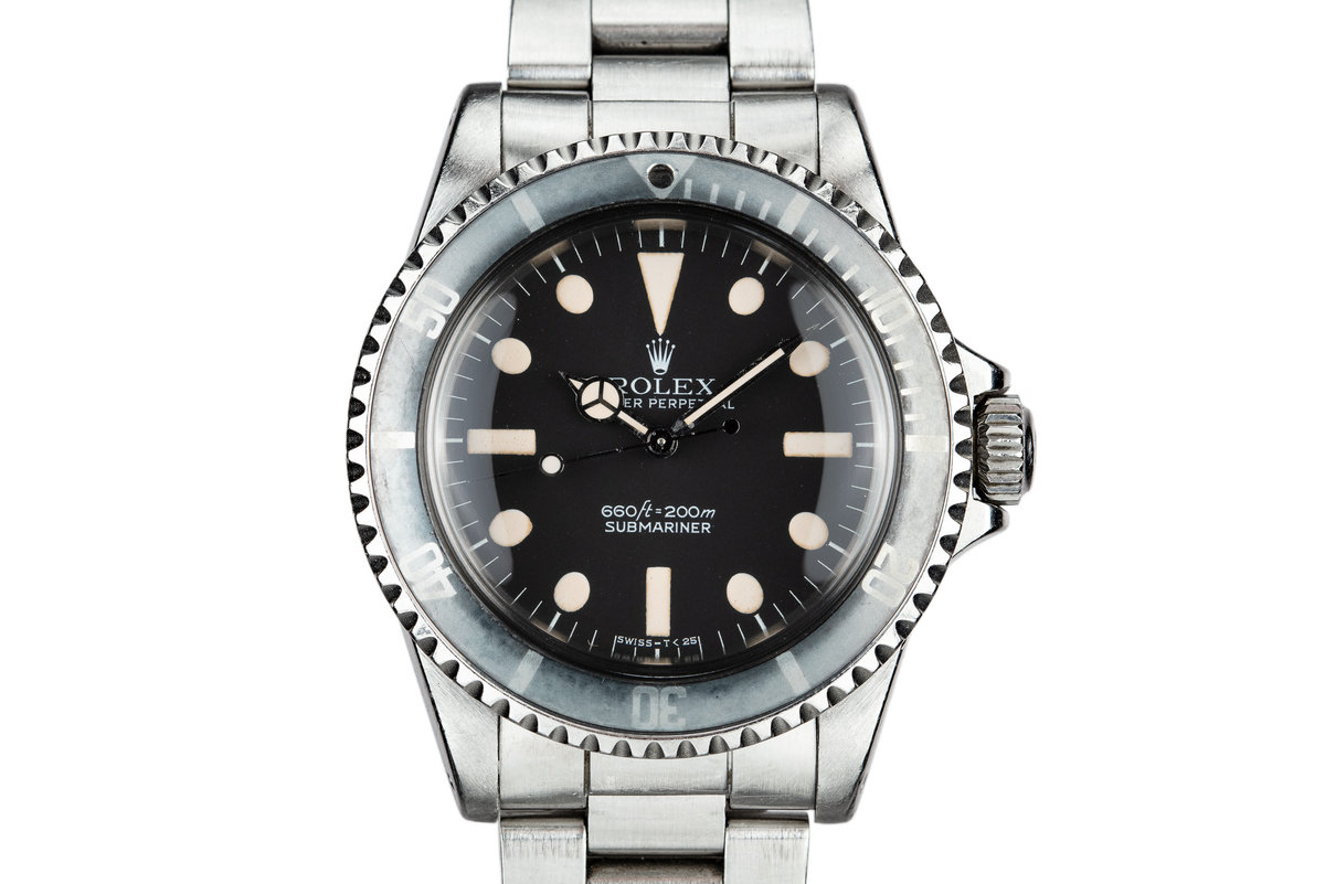 1977 Rolex Submariner 5513 with MK I Maxi Dial photo, #0