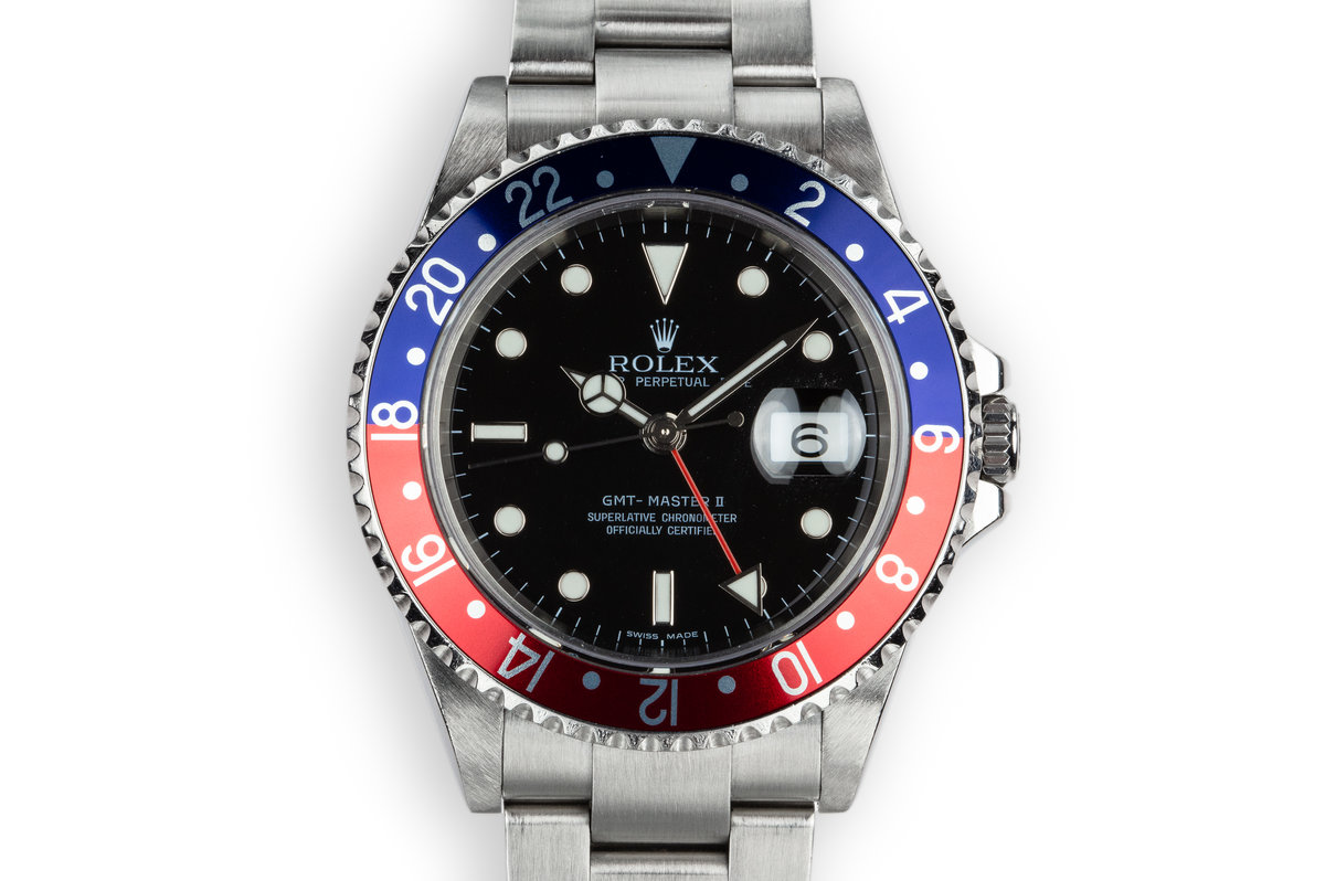 "2006 Rolex GMT-Master II 16710 ""Pepsi"" photo, #0"