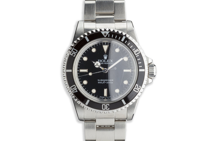 "1984 Rolex Submariner 5513 with Glossy ""Spider"" Dial photo"