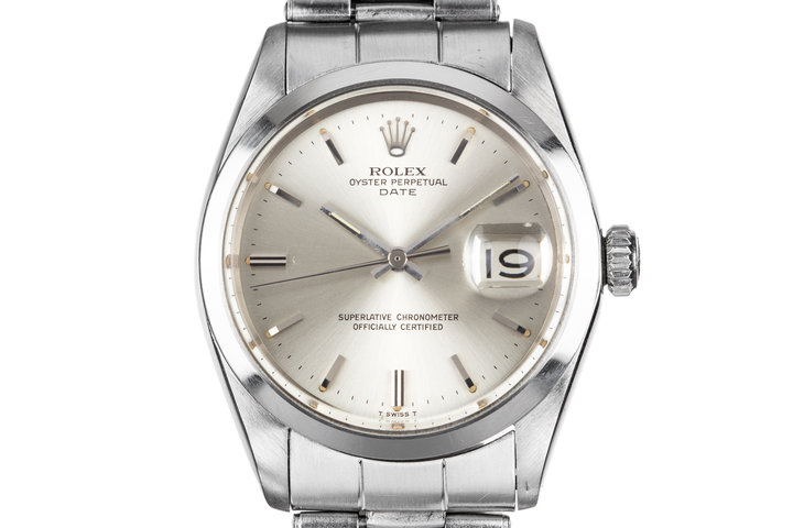 1967 Rolex Date 1500 Silver Dial photo