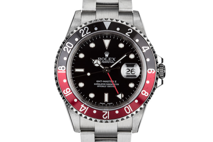 "2005 Rolex GMT-Master II 16710 ""Coke"" with Box and Papers photo"