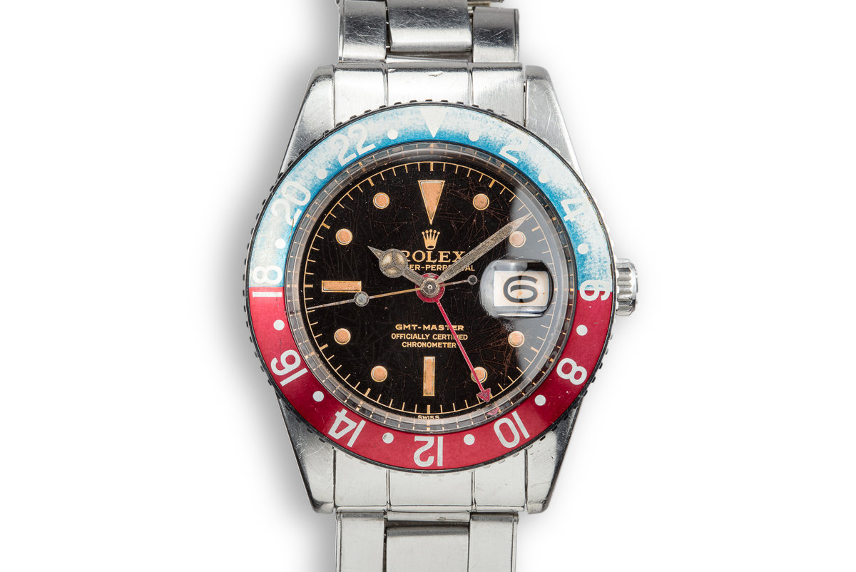 1959 Rolex GMT-Master 6542 Gilt Dial with Chronometer Papers and Service Papers photo, #0