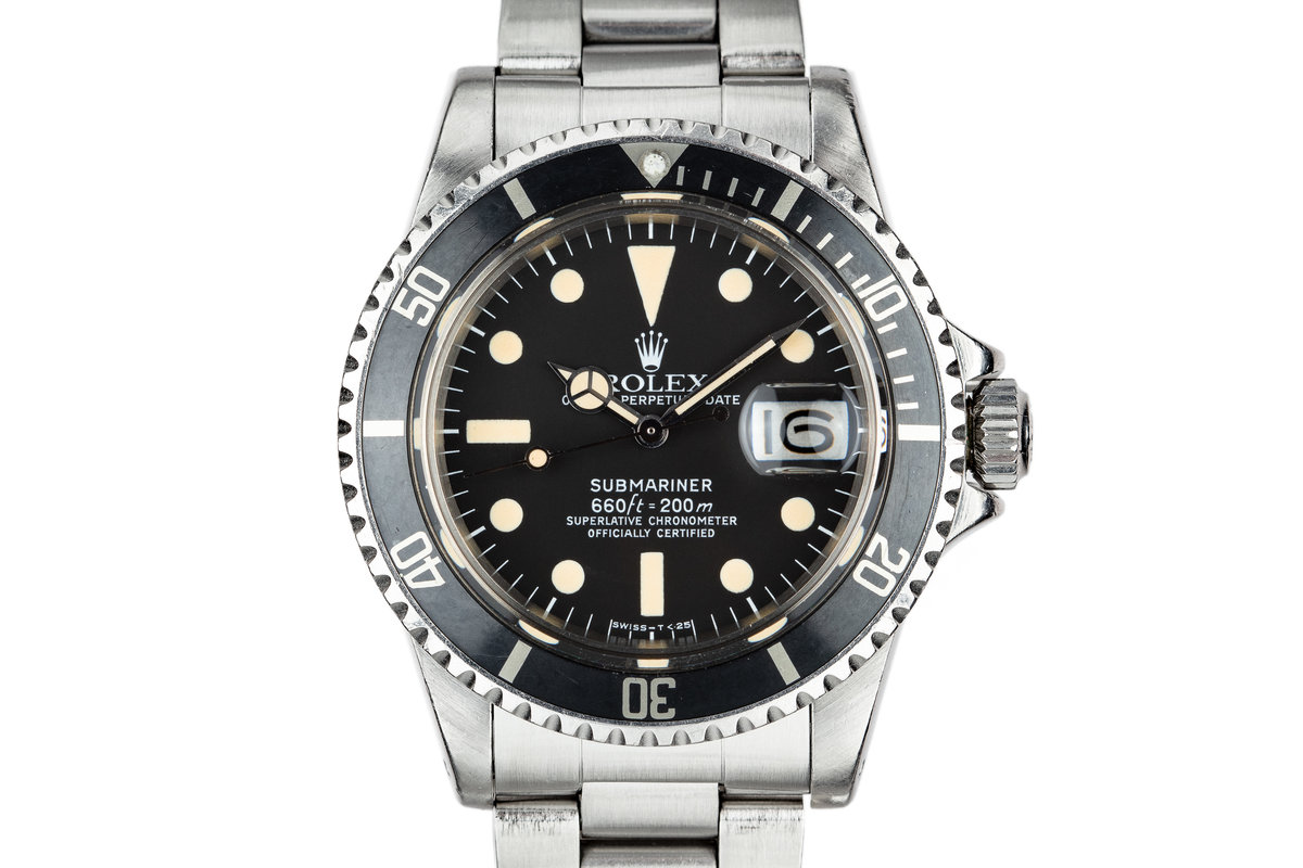 1978 Rolex Submariner 1680 with Box and Papers photo, #0