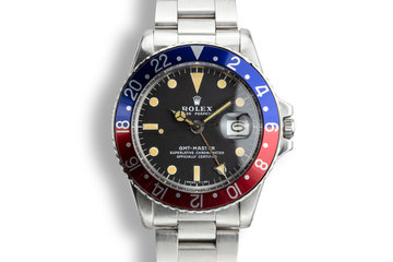 1972 Rolex GMT-Master 1675 with Papers photo