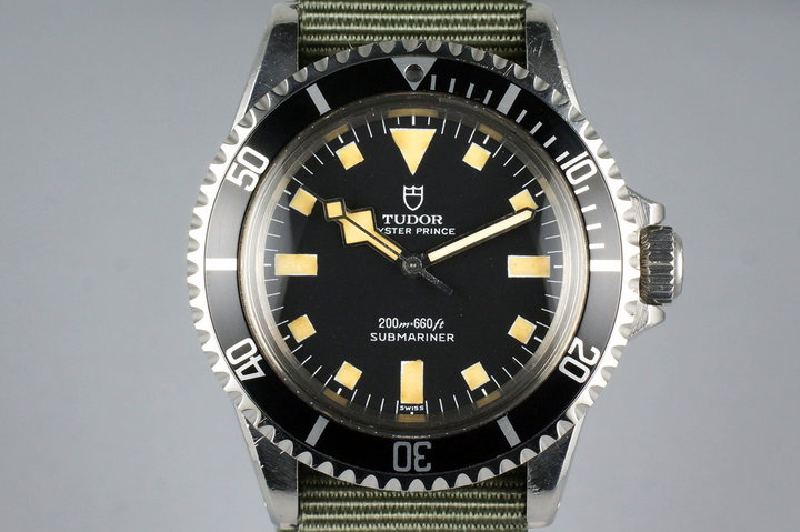 1972 Tudor Black Submariner 7016/0 Snowflake photo