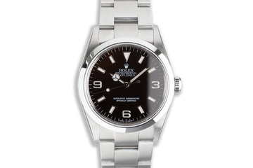 2006 Rolex Explorer 114270 with Box & Papers photo