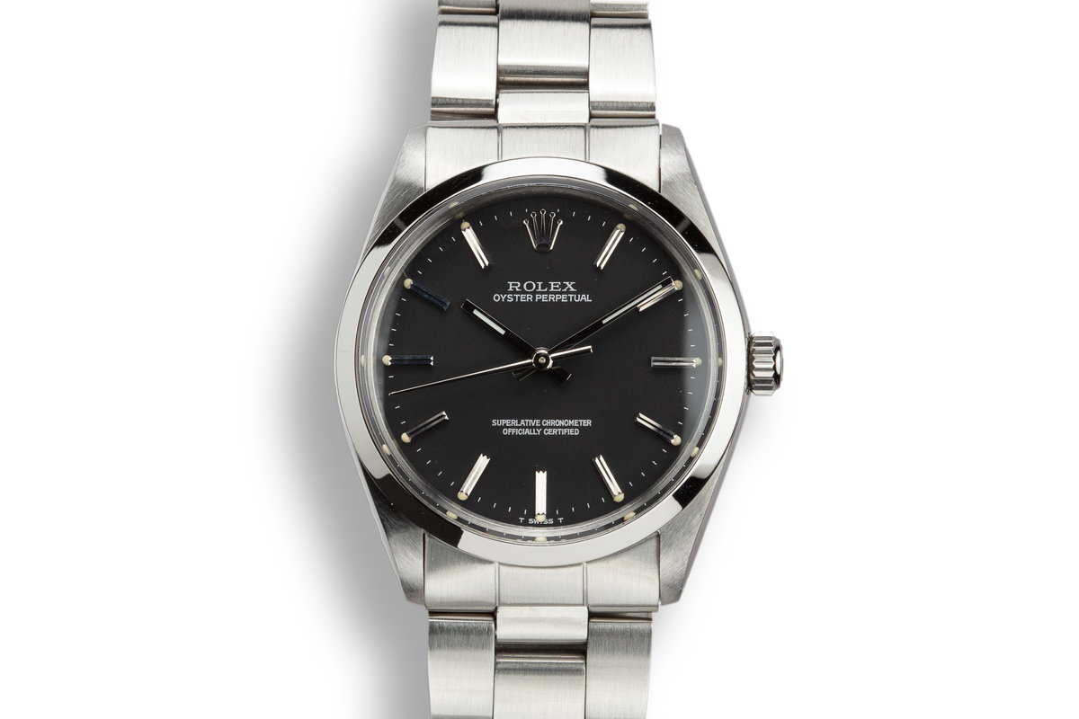 1969 Rolex Oyster Perpetual Black Dial photo, #0