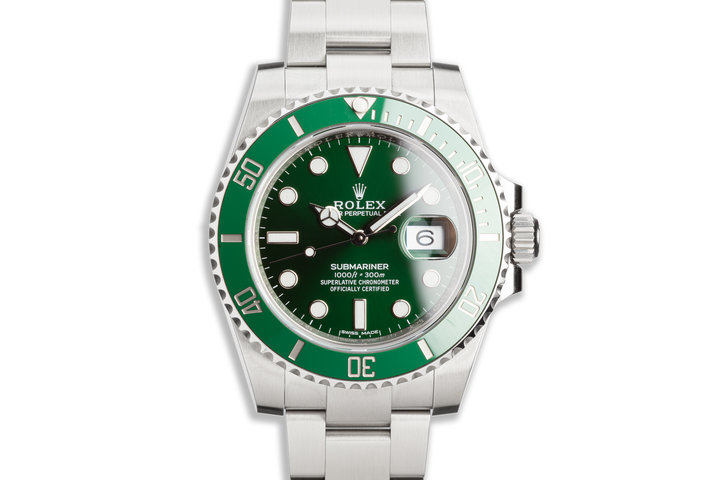 "2019 Rolex Green Submariner 116610LV ""Hulk"" with Box & Card photo"