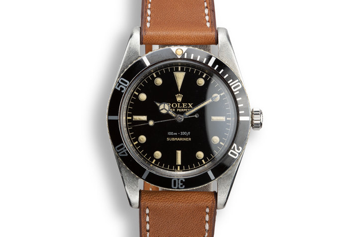 1958 Rolex Submariner 5508 Gilt Dial photo