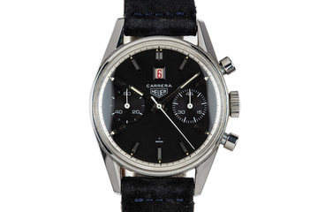 1960's Heuer Carrera Dato 3147 photo
