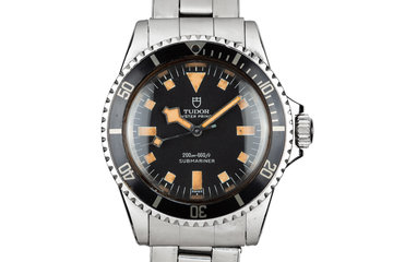 1968 Tudor Snowflake Submariner 7016/0 Black Dial photo