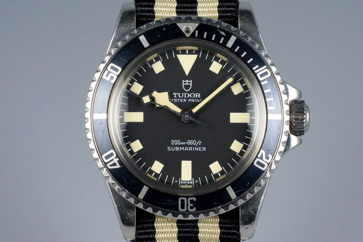 1978 Tudor Submariner 94010 Snowflake with Papers photo