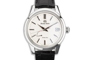 2020 Grand Seiko SBGA293G with Box & Card photo