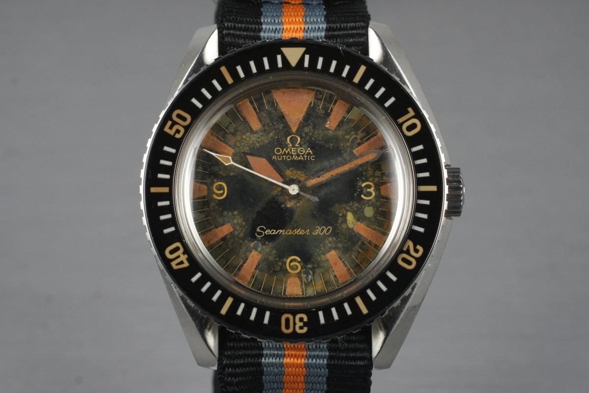 1645b84635deb HQ Milton - Vintage 1967 Omega Seamaster 300 165.024 W10 Military ...