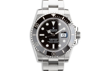 2019 Rolex Submariner 116610LN with Box & Card photo