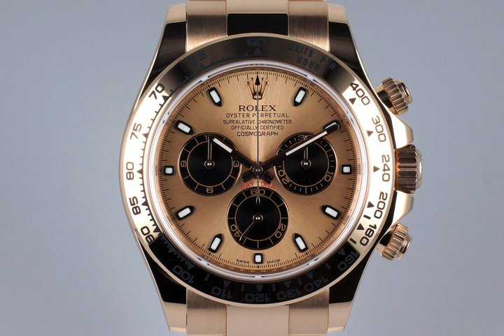 2016 Rolex Rose Gold Daytona 116505 with Box and Papers photo