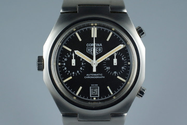 Vintage Heuer Cortina 110.233 photo