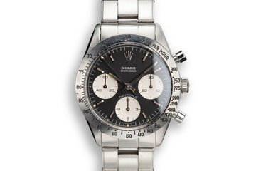 "1966 Rolex Daytona 6239 with Black ""Blue Daytona"" Dial photo"