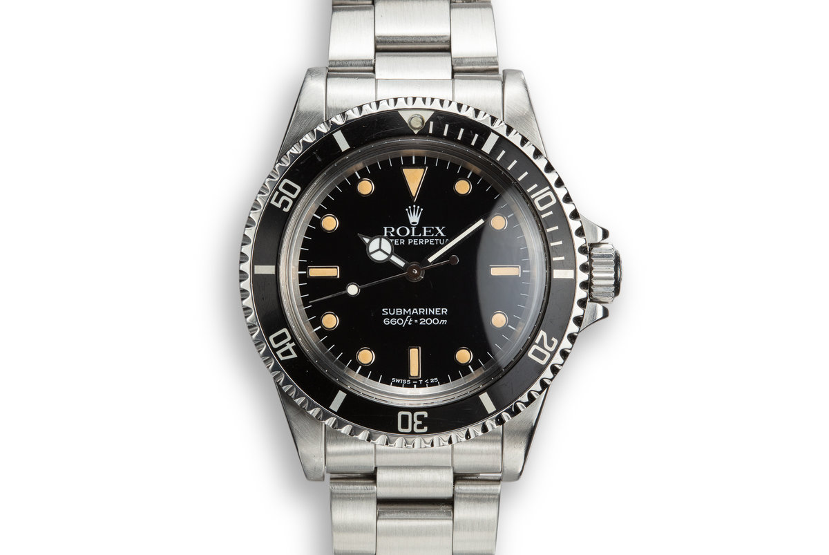 1987 Rolex Submariner 5513 photo, #0
