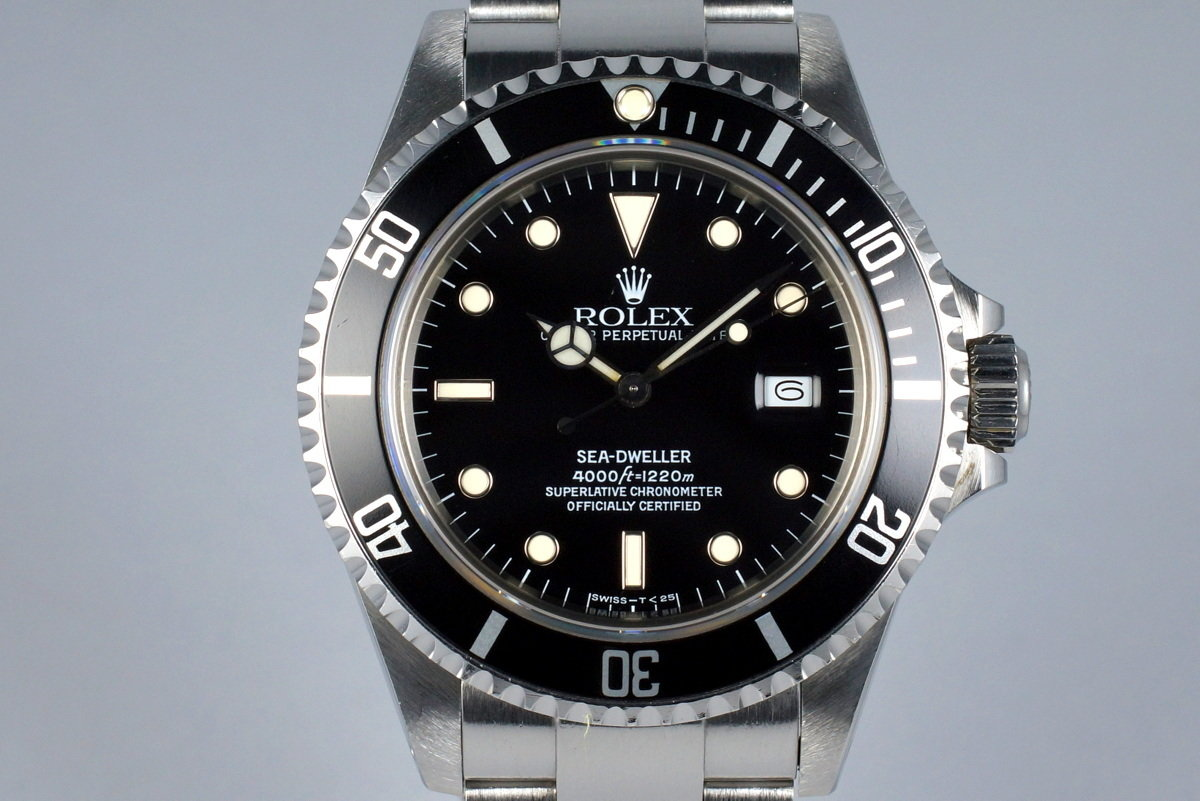 1986 Rolex Sea-Dweller 16660 photo, #0