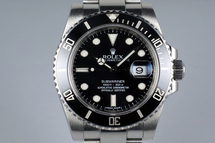 2010 Rolex Submariner 116610 photo