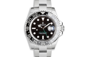 2017 GMT Master II 116710LN with Box and Card photo