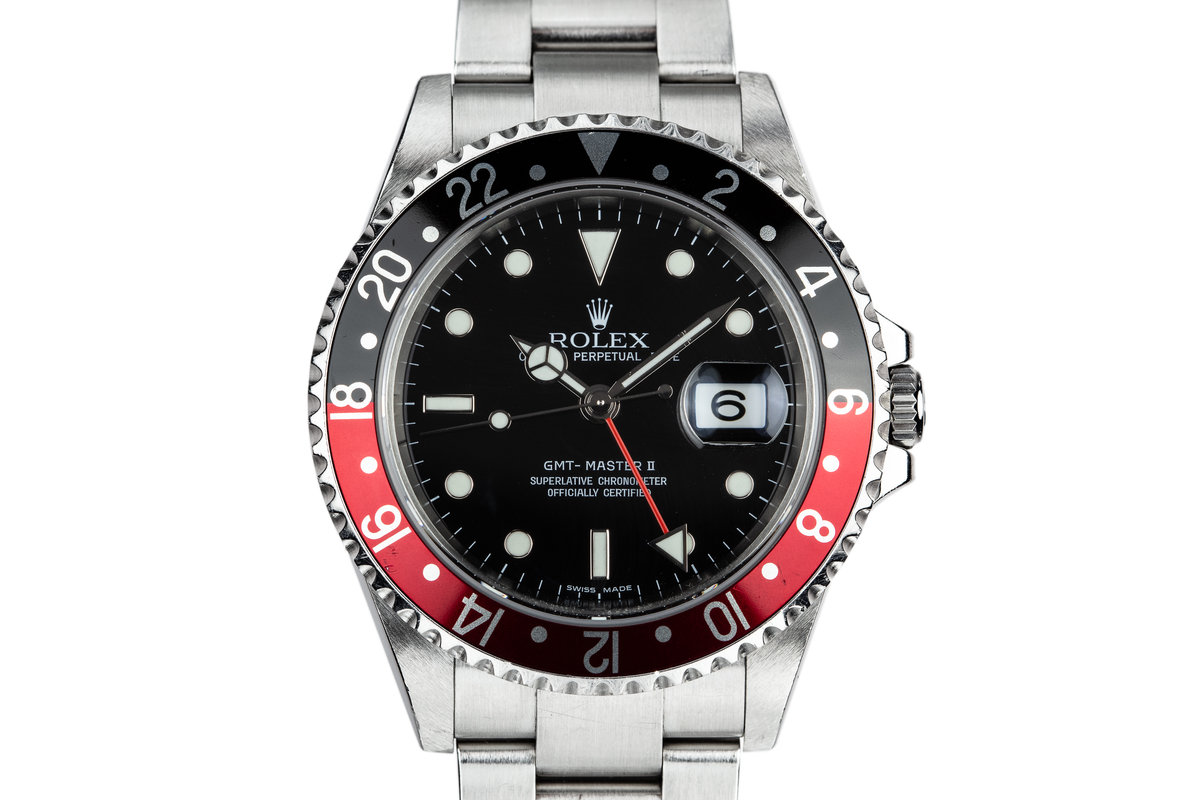 """2006 Rolex GMT-Master II """"Coke"""" with Box and Papers photo, #0"""