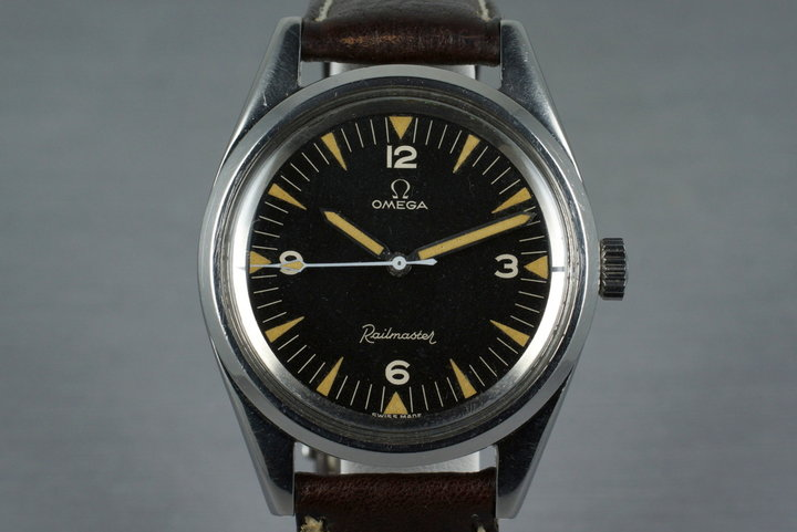 1958 Omega Railmaster CK2914-2 Cal. 284 photo