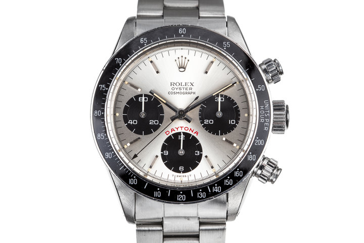 "1985 Rolex Daytona 6263 with ""Big Red"" Silver Dial photo"