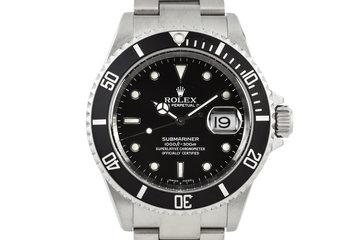 2004 Rolex Submariner 16610 photo