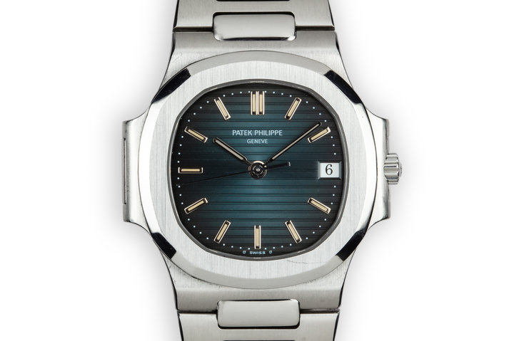 Patek Philippe Nautilus 3800 /1A with Blue Sigma Dial photo
