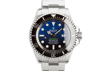 "2019 Rolex Deep Sea-Dweller 126660 ""James Cameron"" with Box and Card photo"