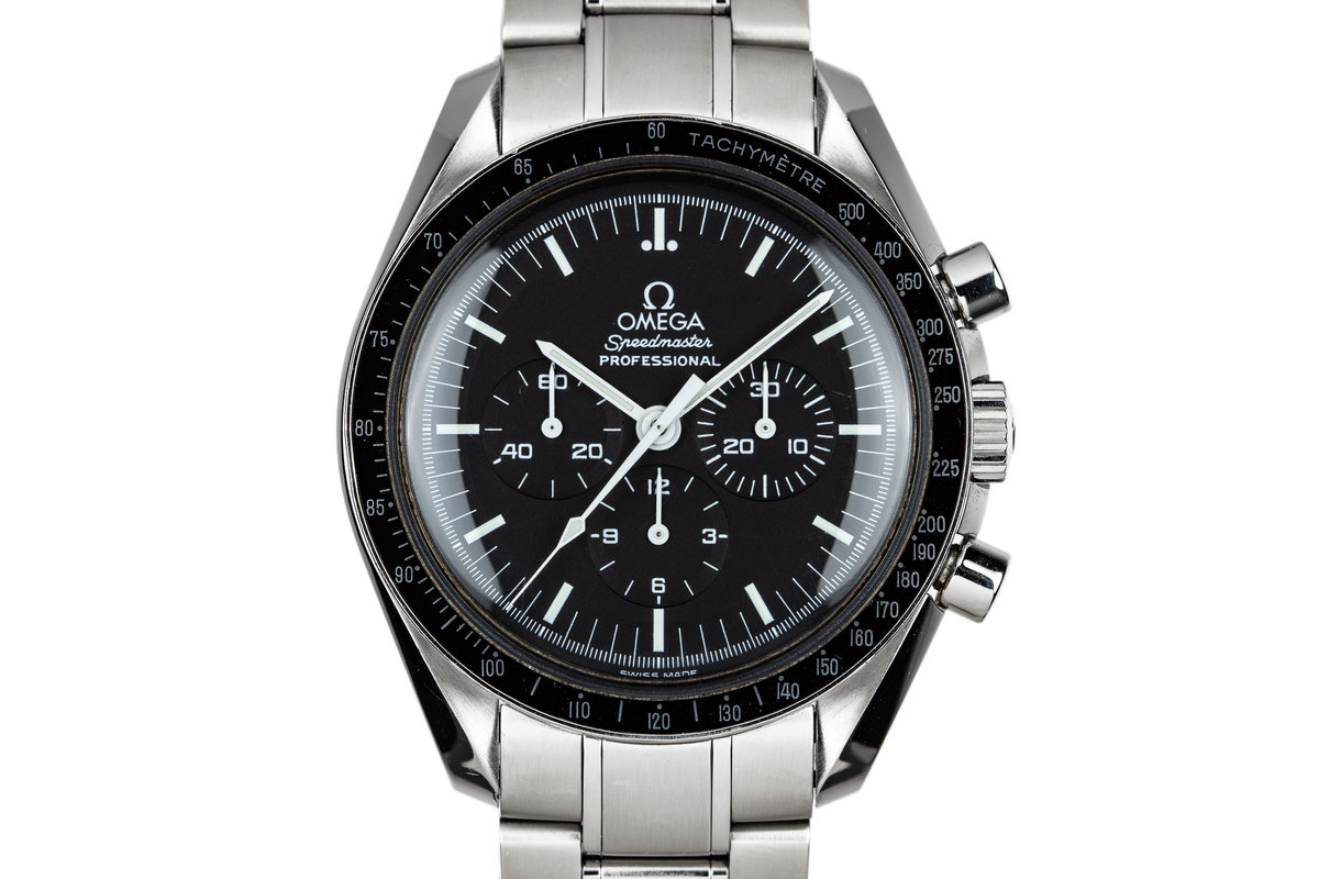 2004 Omega Speedmaster Professional 3570.50.00 with Box and Papers photo, #0