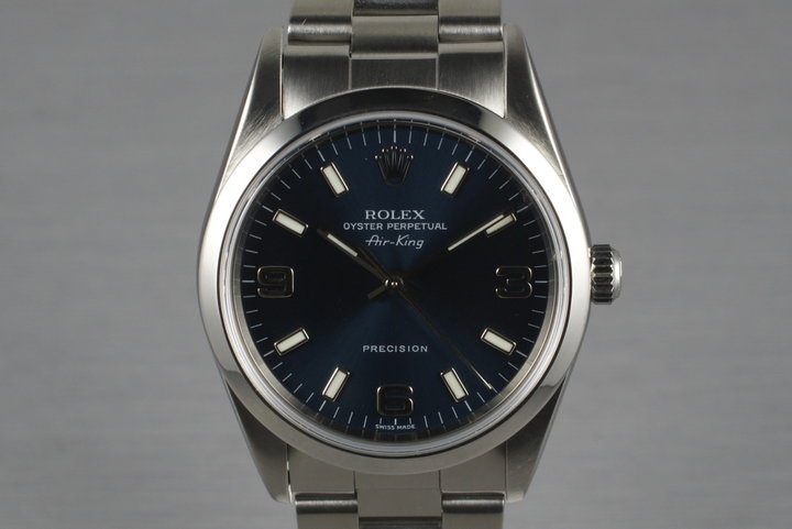 2005 Rolex Air King 14000M photo
