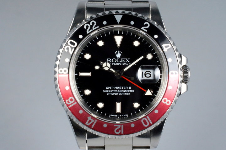 1996 Rolex GMT II 16710 photo