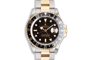 1991 Rolex 18k/St GMT-Master II 16713 photo