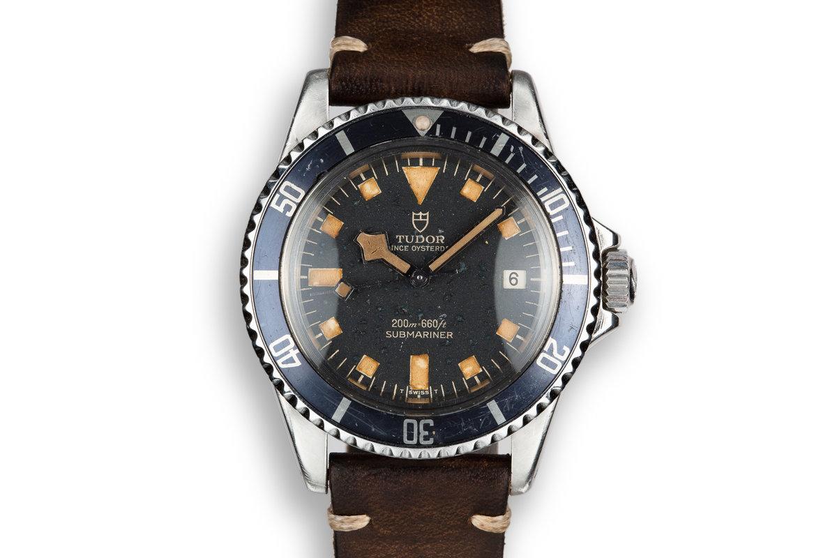 1973 Tudor Snowflake Submariner 9411/0 Black Dial photo, #0