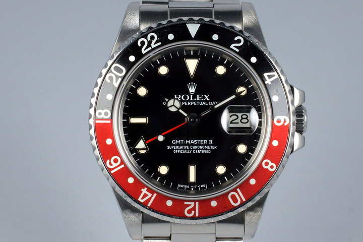 1986 Rolex Fat Lady GMT II 16760 with RSC Papers photo