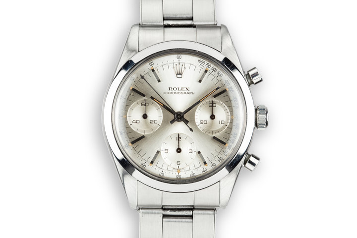 1965 Rolex Pre-Daytona 6238 Silver Dial with Service Papers photo