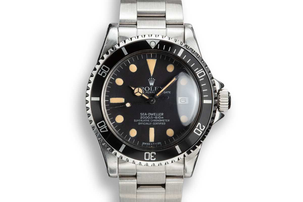 1978 Rolex Sea-Dweller 1665 photo, #0