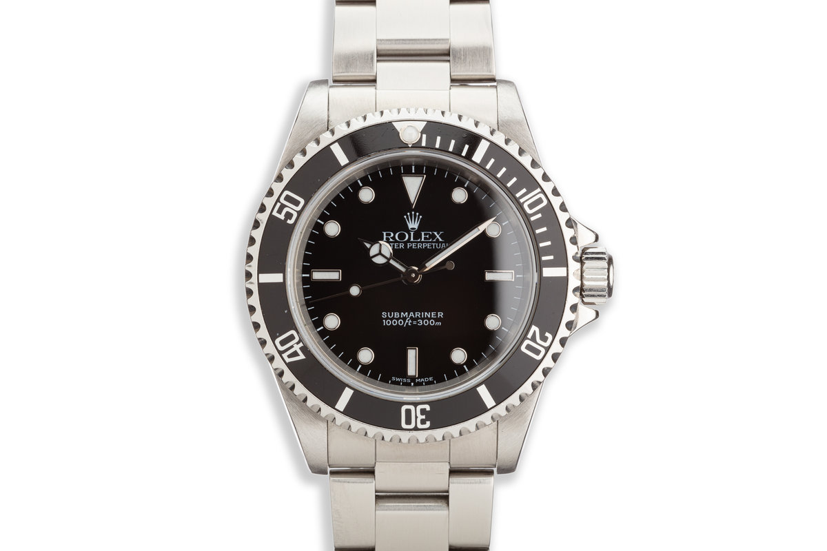 2000 Rolex Submariner 14060 with Box and Papers photo, #0