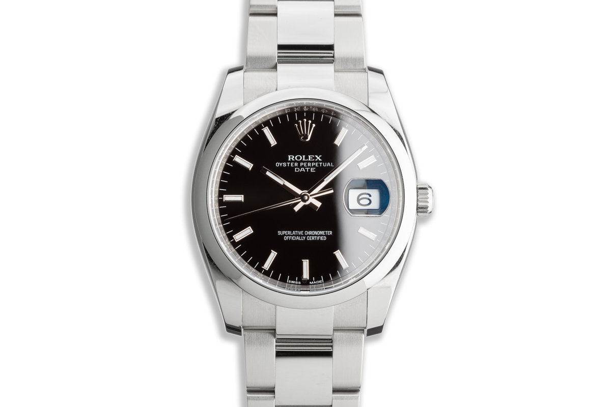 Rolex Oyster Perpetual Date 115200 photo, #0