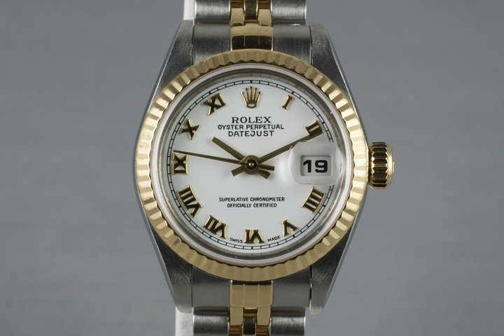 2002 Rolex Ladies Two Tone Datejust 79173 photo