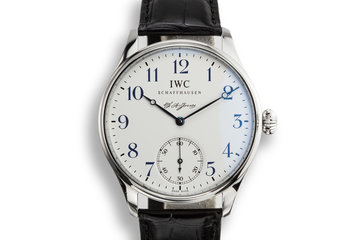 IWC Portuguese F.A. Jones Limited Edition IW 544203 photo