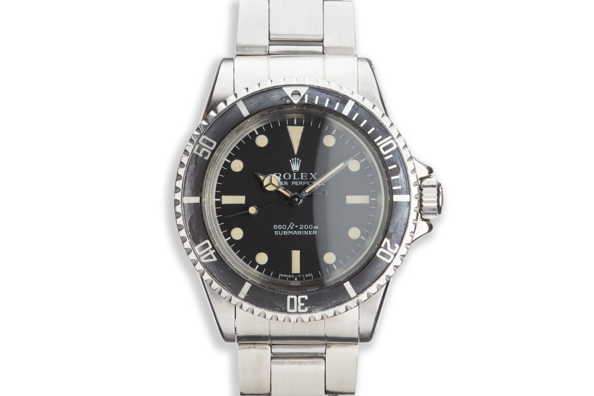 1970 Vintage Rolex Submariner 5513 photo, #0