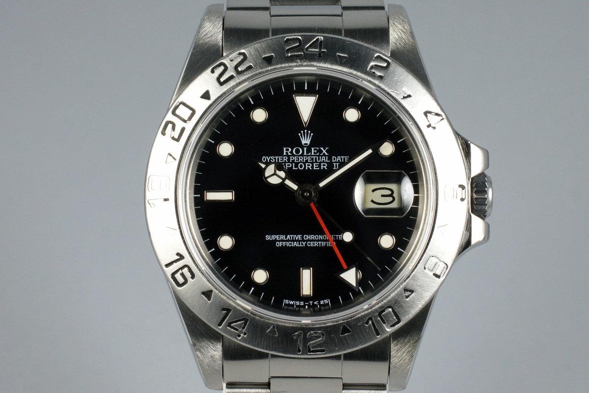 1984 Rolex Explorer II 16550 Black Dial photo, #0