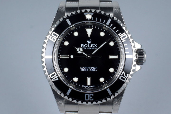 2006 Rolex Submariner 14060M with Box and Papers photo