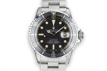 1970 Rolex Red Submariner 1680 MK V Dial photo