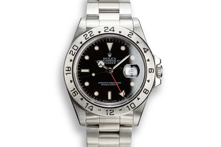 1990 Rolex Explorer II 16570 Black Dial photo