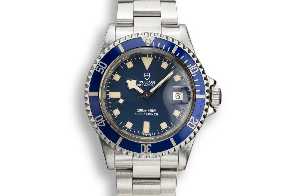 1981 Tudor Snowflake Submariner 94110 Blue Dial photo, #0